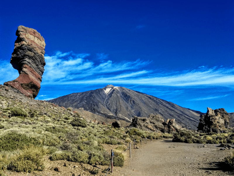 Mount Teide is an Active Volcano
