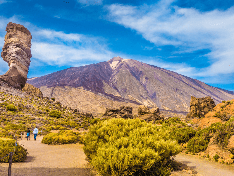 Permits are Required Up the Summit of Teide National Park