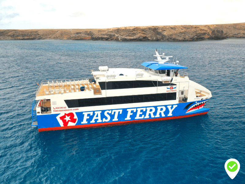 Ferry from Lanzarote to Fuerteventura Schedules